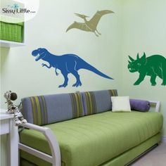 Great dino wall decals. #pinparty