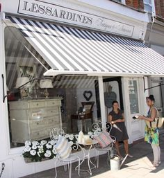 Love this shop - want everything in it from the beautiful Italian soaps to the belgian linens to the french antique furniture