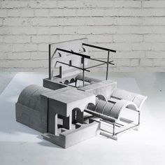model architecture | pin by virginia charitaki Concrete Architecture, Architecture Collage, Architecture Portfolio, Interior Architecture, Architecture Models, Minimal Architecture, Architecture Diagrams, School Architecture, Landscape Architecture