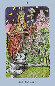 The Emperor - Jolanda Tarot (Swedish Witch Tarot)