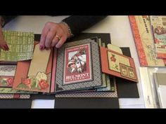 Be Lucky Album Off to the Races Graphic 45 - YouTube
