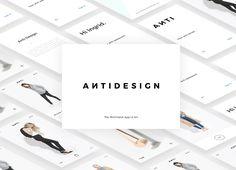 ANTIDESIGN - The minimalist Mobile UI Kit designed by Florin Gaina. Maya Design, Visual Hierarchy, Ui Kit, App Ui, Mobile Ui, Ecommerce, Minimalist, Photoshop, Purpose
