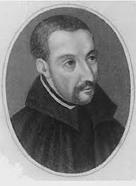 St. Edmund Campion, Roman Catholic Jesuit Priest and English Martyr. He refused to apostatize when offered rich inducements to do so, was tortured and then hanged, drawn, and quartered at Tyburn. Feastday Dec 1