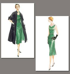 I love vintage patterns! I'm actually thinking of making this coat out of my old graduation gown.