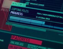 The Numbers Station - Film UI by Territory, via Behance