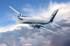 Rússia volta à disputa dos aviões regionais com o novo IL-114-300 - AEROIN
