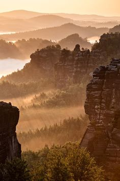 Saxon Switzerland, Germany by Iven Eissner