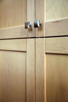 How To Make Shaker Cabinet Doors From Old Flat Fronts