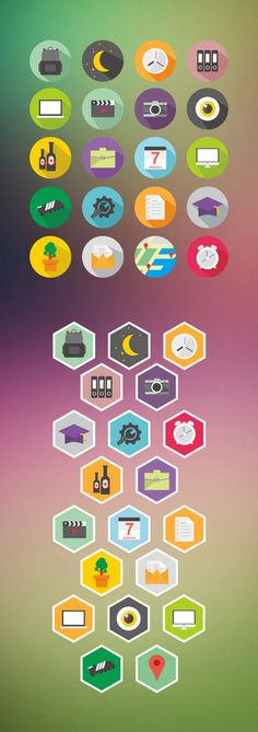 Icon Design by Mohammad Rikza , via Behance