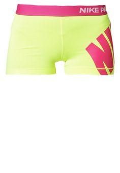 "Nike Performance - PRO 3"" - Korte broeken - volt/hot pink"