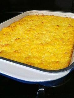 Mielietert by braaivleis Braai Recipes, Veggie Recipes, Snack Recipes, Cooking Recipes, Snacks, South African Dishes, South African Recipes, Sweetcorn Bake, Ma Baker