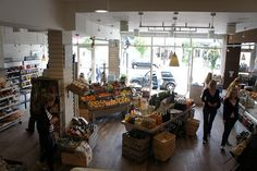 Daylesford Organic Market, Notting Hill, London by AJDewar, via Flickr