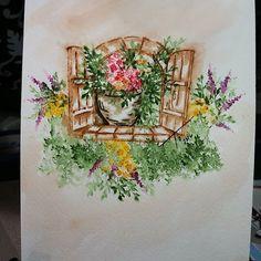 #watercolortheartimpressionsway #watercolor #artimpressions