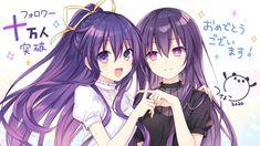 Sci Fi Anime, Manga Anime Girl, All Anime, Anime Demon, Date A Live, Romantic Comedy Anime, Anime Sisters, Anime Date, Animes Yandere