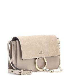 mytheresa.com - Sac à bandoulière en cuir et daim Faye Small - Luxe et Mode pour femme - Vêtements, chaussures et sacs de créateurs internationaux