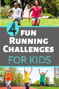 If you're a running club coach, physical education teacher, or parent, here some running challenges for kids to inspire and encourage them to run.  #kidsrunning  #runningmotivation  #runningchallenges Running Challenge, Running Plan, Kids Running, Running Tips, Physical Activities For Kids, Elementary Physical Education, Pe Activities, Jogging For Beginners, Beginner Running