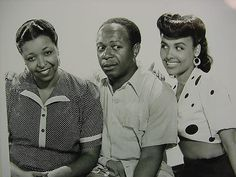 Cabin In the Sky, starring Ethel Waters, Eddie Rochester Anderson and Lena Horne.