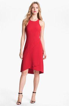 Rachel Roy Seamed A Line Dress Rachel Roy