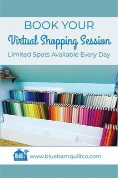 A limited amount of virtual shopping sessions are available  every day. I'd love to help you pick out fabrics for a project. Please call or text to book your session! 780 700-4456.  #virtualshopping #libertyoflondon #agfpuresolids #longarmquilting  #bluebarnquiltco #ilovequilting #quiltersdream #quiltersofinstagram #yegquilter  #forsale #fabriclove #canadianquiltshop #sewcanadian #onlinequiltshop #onlinequiltstore #onlinefabricshop