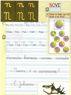 Alfabeto Vogais e Consoantes - Caligrafia. - Aprender e Brincar