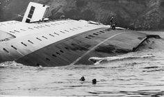 10 April 1968 - Wahine Disaster - sad day remembered 45 years on >> timeline * * Abandoned Ships, Abandoned Places, Merchant Navy, 45 Years, Sail Away, Shipwreck, Underwater, New Zealand, Sailing