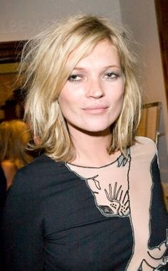 Kate Moss Hairstyles : 2014 New Hair Style Models