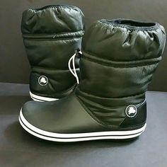 c9bc2fa90 Shop Women s CROCS Black size 11 Winter   Rain Boots at a discounted price  at Poshmark.