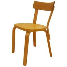 Vintage Alvar Aalto or Artek Chair Model 69 Living Room Colors, Small Living Rooms, Small Lounge, Vintage Stool, Modern Dining Room Tables, Modern Stools, White Laminate, Alvar Aalto, Cafe Chairs
