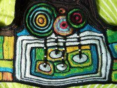 Jokkemaa's freeform crochet - very hundertwasser-esque -click through to her flickr stream