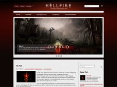 HellFire is a magnificent WordPress theme, it includes easy to use administrative panel, custom widgets, slider, menus and lots of other useful features. Theme developed for a Diablo fans website, but you can easy adapt it for your wishes.