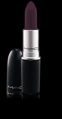 Rouge à lèvres M A C  Pourpre Noir