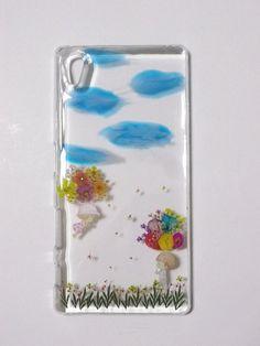 專屬訂單 - Chi Chi Chi Chi, Real Flowers, Sony Xperia, Workshop, Phone Cases, Atelier