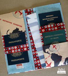 Porta Passaportes
