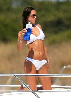 Kate Middleton's Princess Prep!:  Middleton showed off her tanned and toned physique on a 2006 Ibiza vacation with Prince William. How does she keep in such great shape? The future princess works out at London's Harbour Club, a luxury health club with a joining fee of $3,500!