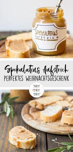 Spekulatius Aufstrich - perfektes und leckeres DIY Weihnachtsgeschenk - Food Geschenk - Geschenke aus der Küche