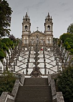 Bom Jesus do Monte - Braga, Portugal
