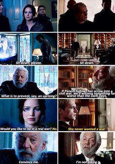 Catching Fire and Mockingjay parallels. Hunger Games Movies, Hunger Games Fandom, Hunger Games Humor, Hunger Games Catching Fire, Hunger Games Trilogy, Katniss And Peeta, Katniss Everdeen, Divergent Funny, Game Quotes