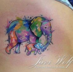 Would be cute with two elephants and tribal