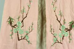 Two Chinese Silk Embroidery Cloths