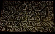 African mud cloth pattern