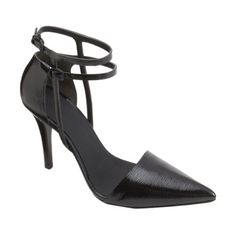 ALEXANDER WANG TEXTURED ANKLE STRAP