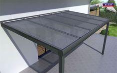 REXOpremium Alu-Terrassenüberdachung jetzt auch vorbereitet für VSG-Glas