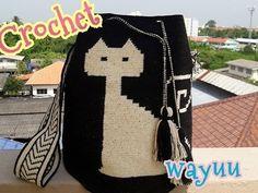 Wayuu bag ||กระเป๋าวายู ||ถักสายกระเป๋า||Malee DIY - YouTube