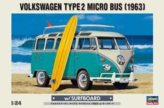 1963 - Model Kit of the VW Micro Bus. This is my dream micro bus!