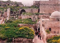 Damascus old city quarters, Syria