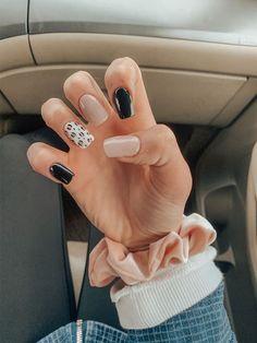 Acrylic Nails Coffin Short, Simple Acrylic Nails, Square Acrylic Nails, Summer Acrylic Nails, Best Acrylic Nails, Acrylic Nail Designs, Cheetah Nail Designs, Leopard Nail Art, Nail Polish Designs