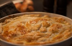 Kylling og champignon tærte - http://foodgeekblog.dk/da/kylling-og-champignon-taerte/