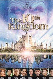 The 10th Kingdom: A long (but worthwhile) TV miniseries about a young woman and her father who are transported to a fairy tale land and must save it from the evil queen, who has placed a curse on the kingdom's rightful heir. Great stuff for fairytale nerds.