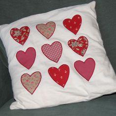 Applique cushion