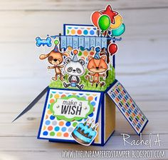 The Unpampered Stamper: Your Next Stamp - Birthday Box Card